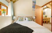 Bright and airy double with ensuite shower room