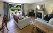 The sitting room in Garden Cottage