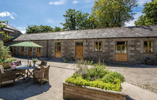 Stable Cottage is a spacious barn for four people