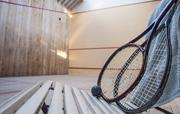 Enjoy a game in our squash court