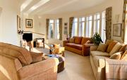Spacious sitting room at The Cottage Beyond
