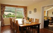 Large dining area, with beautiful views