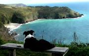 Meg at Lantic Bay