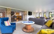Lower sitting room in Buzzard