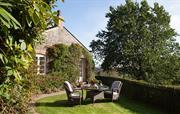 Honeysuckle Cottage and garden