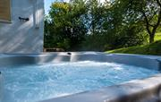 Tyn Y Coed star gazing  hot tub