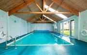 28' x 14' foot indoor heated pool 1