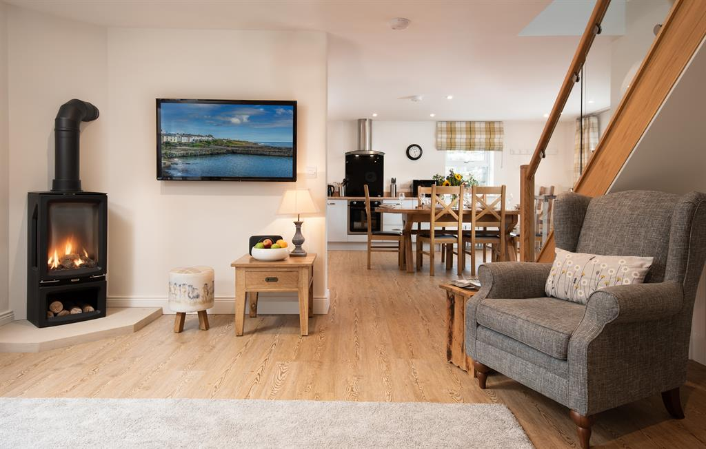 Open-plan living in The Arches