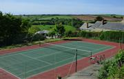 Book a slot at our tennis court
