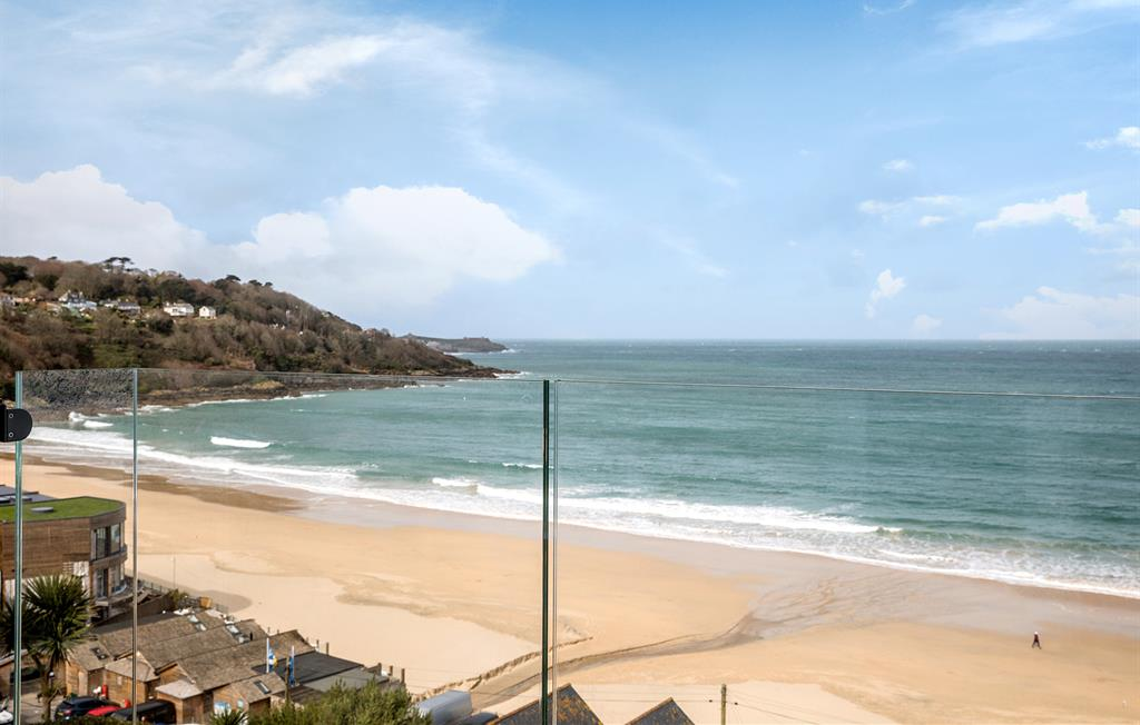 Spectacular views towards St. Ives