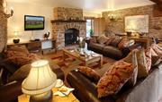 Penblaith Barn TV Lounge