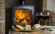 Wood burner and wine