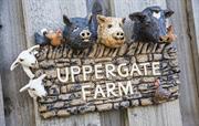 Handmade Uppergate Farm Sign