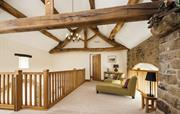Gallery in 300 year old barn conversion