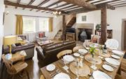 Bray Cottage  Lounge and Dining Room