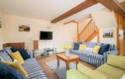 Spacious ground floor with open plan living space