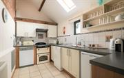 Open and bright kitchen space; fully equipped
