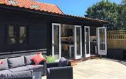 Enjoy the Suffolk sunshine on your garden terrace