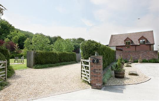 Toad Hall with off road parking and private garden