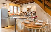 The kitchen in The Dairy cottage