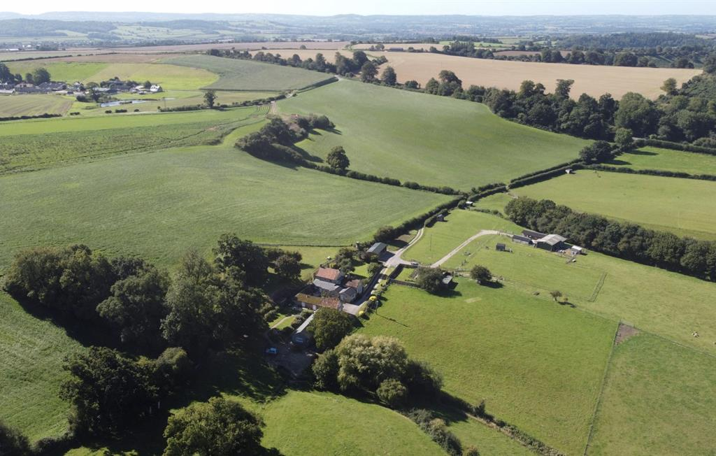 Patson Hill Farm view from above