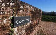 Cider Press sign