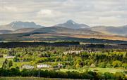 Views from Yurts of Ben Vorlich Mountain