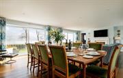 First floor living/dining room