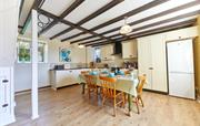 Spacious kitchen with dining for 6