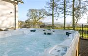 Relax in your hot tub