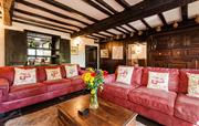 Relax in the historic 500 year old lounge