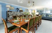 Kitchen table in kitchen