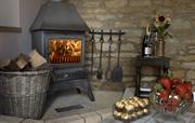 Woodburning stove in Swingletree