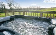 Your very own hot tub with amazing views