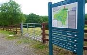 Wooladon Trail sign