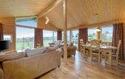 Large living space with amazing views