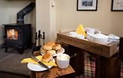 Cosy afternoon tea at Hastings House