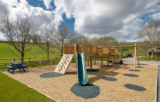 the Playground at Pitt Farm Holiday Cottages