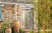Front door of Skylarks cottage