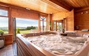 Hot Tub in Trevase Granary Games Room