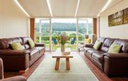 Conservatory sitting room with stunning views
