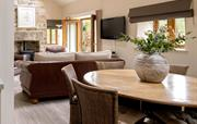 Open plan dining and living Stable