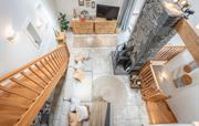 The Byre open plan living area