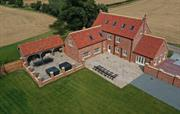 Birds eye view of Pasture House