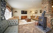 Comfortable but spacious living room