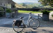 Free electric bike hire at Wheeldon Trees