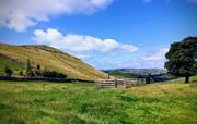 The view of High Wheeldon from the cottages