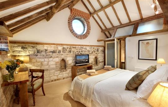 The Hayloft bedroom