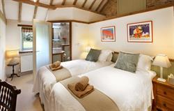 High Barn Cottages. Hayloft Bedroom