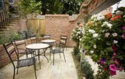 Outdoor communal seating